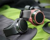 Clignotement des voyants LED en mode mains libres Bluetooth l'Orateur Android portable Smart Watch