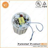9W prix d'usine LED Lampes de feu de la rue de l'Énergie de l'enregistrement