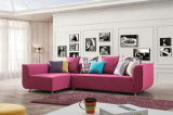 Insieme del sofà dello strato del tessuto