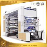 Tipo de pilha de papel térmico de 6 cores máquina de impressão flexográfica