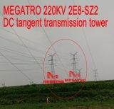 Torretta della trasmissione di tangente di CC di Megatro 220kv 2e8-Sz2