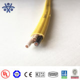 Неметаллическ-Обшитый кабель. 600 вольтов. Медные проводники. Color-Coded куртка. Nm-B