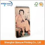 Календар бумаги оптовой продажи стойки женщины Шанхай (QY150305)