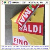 Coated знамя гибкого трубопровода PVC Blockout печатание цифров стороны двойника знамени