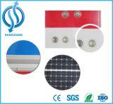 LED Solar balizas con placa de señal de seguridad