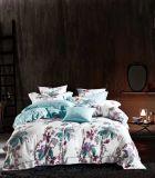 Estilo moderno Four Seasons lençóis de algodão egípcio 4 PCS padrão de distribuição Lençol define extras