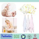 Imprimé en bambou organiques réutilisables de la mousseline de coton de couches pour bébés Insérer couche