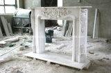 熱い販売の白い大理石の暖炉(SY-MF352)