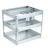 Het aluminium trekt de Mand van de Lade van de Keuken (terug DL200)