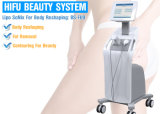 Hifu Karosserie, die Ultraschallmaschine Hifu Haut-Verjüngung abnimmt