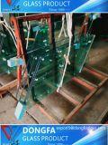 Qualidade elevada 8/10/12/15/19 mm temperada de vidro do prédio para o projeto de hotel