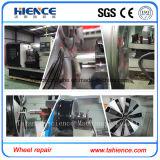 低価格の合金の車輪修理CNCの旋盤機械はAwr28hに値を付ける