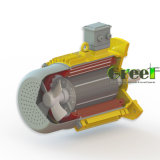 4 квт 400 об/мин магнитного генератора, 3 фазы AC постоянного магнитного генератора, использование водных ресурсов ветра с низкой частотой вращения