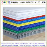 Le meilleur panneau en plastique ondulé épais en plastique personnalisé de vente de la feuille 2-12mm pp