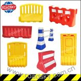 Rotational / Blowing Plastic Portable Temporary Water Filled Barrier