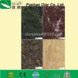 Panneau décoratif de la colle de fibre de Pur-Couleur