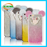 Creative Bowknot Crystal Gradual Change Colorful Case para iPhone 7 / 6s / 6