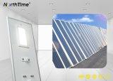 80W 9000lm IP65 d'éclairage extérieurs tout-en-un réverbère solaire LED