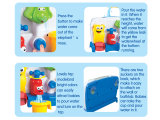 おもちゃの夏を浸してもてあそぶ赤ん坊の浴室のおもちゃ(H7683069)を