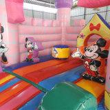 Aufblasbares Camelot Schlag-Haus Mickey Thema