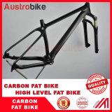 26er тучная вилка Fatbike углерода вилки 150mm через вилку Bike зависимой подвеска тучную