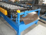 PLC機械を形作る油圧Galazedの鋼鉄タイルのColdedロール