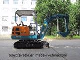 Máquinas escavadoras Bd23 da esteira rolante do Backhoe mini (2.3T/0.1m3)