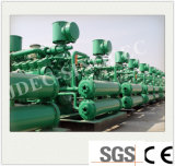 Ventes directes en usine 75kw charbon ensemble générateur de gaz