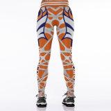 La ginnastica calda di sport di stampa di vendita 3D Digitahi del Amazon ansima le ghette 2039 dei vestiti
