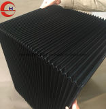 Copertura antipolvere di muggito di nylon flessibile della fisarmonica