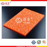 Strato impresso del policarbonato poco costoso della Cina piccolo per Sunhouse