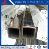 Tubo del quadrato dell'acciaio inossidabile dello specchio 316L della granulosità