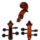 Qualitäts-handgemachte natürliche Flamme lamelliertes Furnierholz-Cello 1/8-4/4