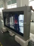 55 Zoll-im Freien transparenter Touch Screen LCD, der Bildschirmanzeige bekanntmacht