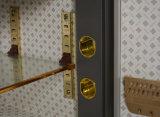 De Factrory caixa pequena segura do cofre forte do quarto de hotel do fechamento eletrônico fixado na parede diretamente