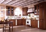 Le luxe de style européen Cherry des armoires de cuisine en bois massif