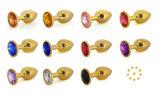 كبيرة حجم معدن [سوبّوستوري] بلّوريّة مجوهرات تنشيط طرف سدادة سدادات شرقيّة