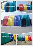 Tente gonflable colorée d'événement d'usager de vente chaude