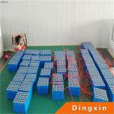 Batteria di litio 12V 50ah per la batteria solare dell'indicatore luminoso di via di 60W LED
