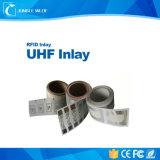 Inlays UHF RFID pasiva Popular para la gestión identificar
