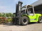 10 Tonnen-automatischer Dieselgabelstapler-Behälter-Gabelstapler