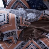 Fundamento Home impresso clássico do algodão de matéria têxtil do estilo europeu