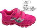 Nr 51607 de Schoenen van Flyknit van de Schoenen van de Voorraad van de Sport van de Klitband van de Schoenen van het Jonge geitje