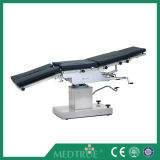 Mesa de operaciones hidráulica manual universal de la pista quirúrgica médica (MT02011005)