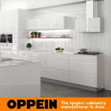 Mobília de cozinha em madeira de laca de alta qualidade moderna Oppein (OP16-L07)