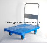 pH1523 알루미늄 플래트홈 트럭 창고 손 트롤리