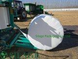 пленка обруча Silage 750mm зеленая/аграрная пленка простирания/пленка обруча Bale сена