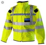 Chaquetas del policía de tráfico de los hombres del Hola-Vis de la alta calidad