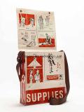 박판 PP에 의하여 길쌈되는 어깨에 매는 가방을 인쇄하는 OEM 순서 관례