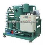 Purificador de óleo de vácuo de duplo estágio para a desidratação e desgastamento do óleo do transformador